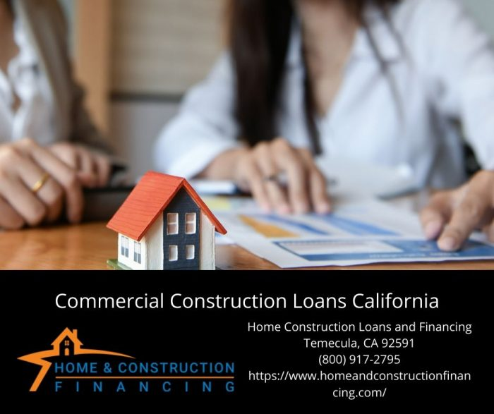 Commercial Construction Loans California